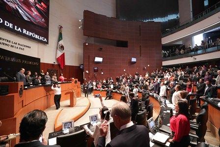 Declara Congreso de la Unión aprobado el artículo 135 Constitucional que crea la Guardia Nacional