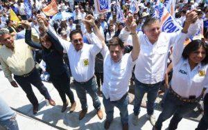 Candidato a gobernador por la alianza PRD-PAN-Movimiento Ciudadano.