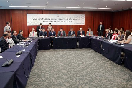 Instalan grupo de trabajo que dará seguimiento a procesos electorales locales del 2019