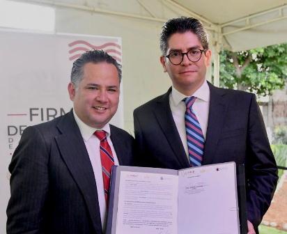 Firma IEEPCO acuerdo de colaboración con Unidad de Inteligencia Financiera de la SHCP