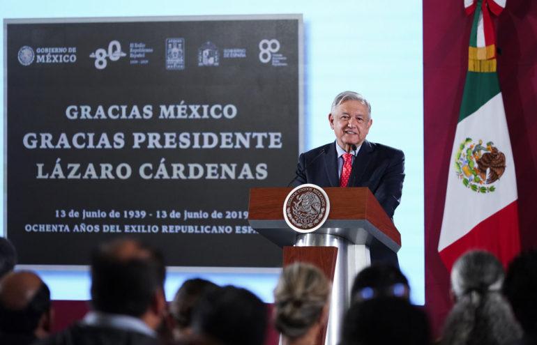 Versión estenográfica de la conferencia de prensa matutina del presidente Andrés Manuel López Obrador, Junio 13