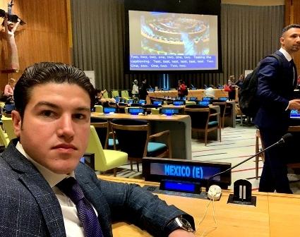 México luce retrógrada ante la Organización de las Naciones Unidas: Samuel García