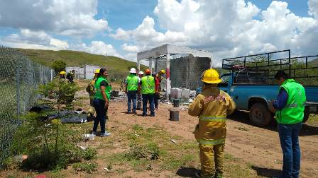 Deja un muerto y tres heridos explosión de polvorín en Santiago Apóstol, Oaxaca