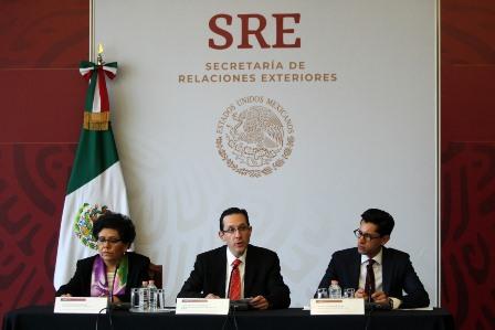 Presenta la SRE al Poder Legislativo informe en materia de protección consular