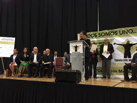 Convicción mexicana buscará poner fin a descomposición social con recuperación de principios y valores