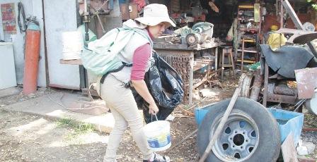 Cerco sanitario contra dengue