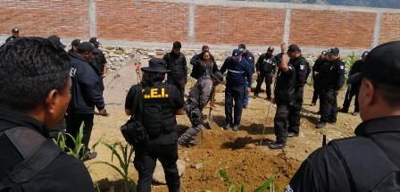 Coordina Fiscalía Plan de Búsqueda de probables víctimas de desaparición forzada en Güilá, Oaxaca