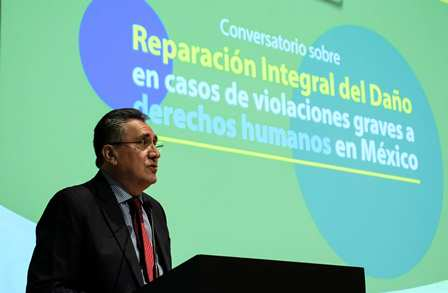 Pide CNDH acceso a la verdad, justicia, reparación del daño y garantías de no repetición