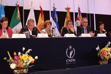 Atender migración y luchar contra la trata de personas, recomienda CNDH a homólogas de Iberoamérica