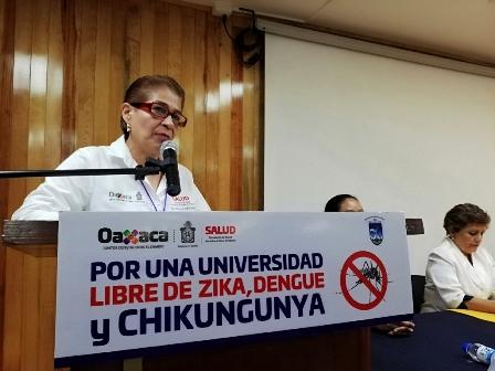 Instituciones del estado de Oaxaca refuerzan acciones contra el dengue