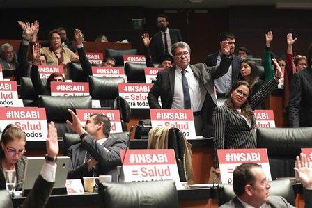 Aprueba Senado en lo particular minuta que crea el Instituto de Salud para el Bienestar