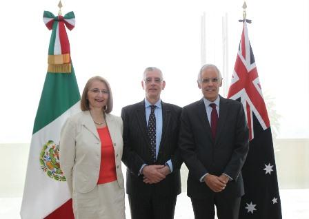 Acuerdan México y Australia fortalecer relación bilateral y diálogo político