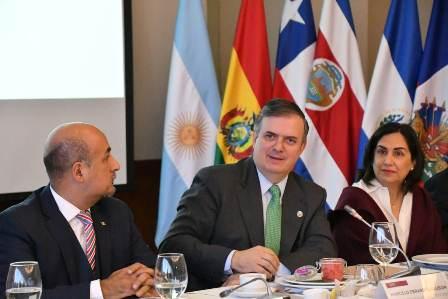 Presenta México propuesta de plan de trabajo para la presidencia de CELAC 2020