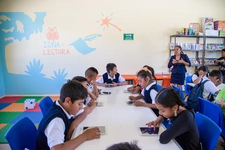 Escuelas reconstruidas en Oaxaca
