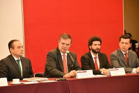 Encuentro con Congresos Locales en el ámbito de la Internacionalización de Estados y Ciudades Mexicanas