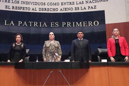 Condena Senado de la República feminicidio de Abril Pérez Sagaón