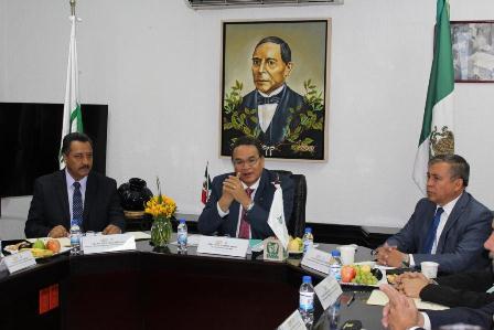 José David Orgáz Fernández tomó posesión como titular de la oficina de representación del IMSS Oaxaca