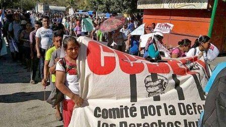 Anuncia Codedi caravana a la Ciudad de México; demandan la libertad de Fredy García