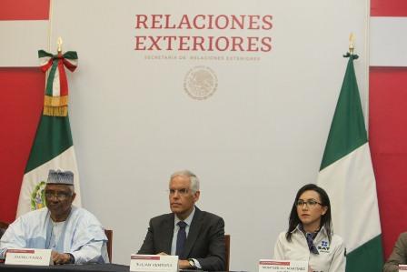Restituye Gobierno de México un bien cultural a la República de Nigeria