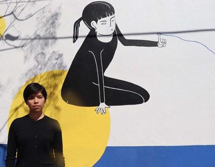 Participa estudiante de la UABJO en importante festival artístico de Bahía de Banderas, Nayarit