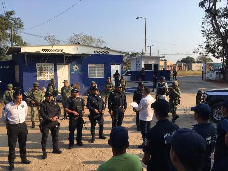 Asume coordinación de policías Loma Bonita