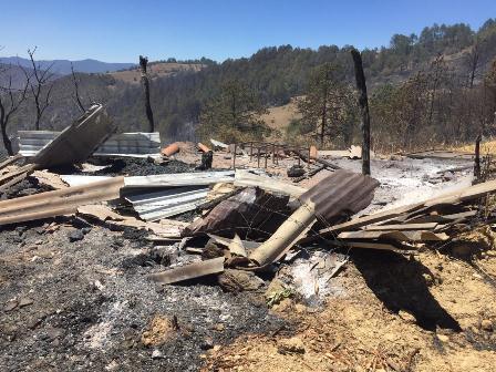 Declaran a dos municipios de Oaxaca en Emergencia por incendios forestales