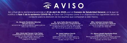 Campañas sobre Covid-19