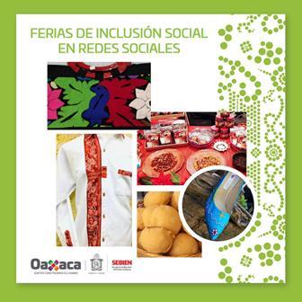 Realizan Feria Virtual de Inclusión Social para apoyar a productores y artesanos oaxaqueños