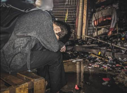 ¿Provocado o accidente?, incendio en Mercado de Abasto de Oaxaca
