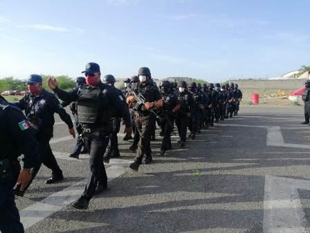 Mantienen acciones conjuntas para garantizar Estado de Derecho en el Istmo de Tehuantepec