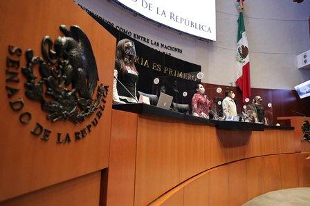 Ratifica Pleno del Senado permanencia de todos los grupos parlamentarios