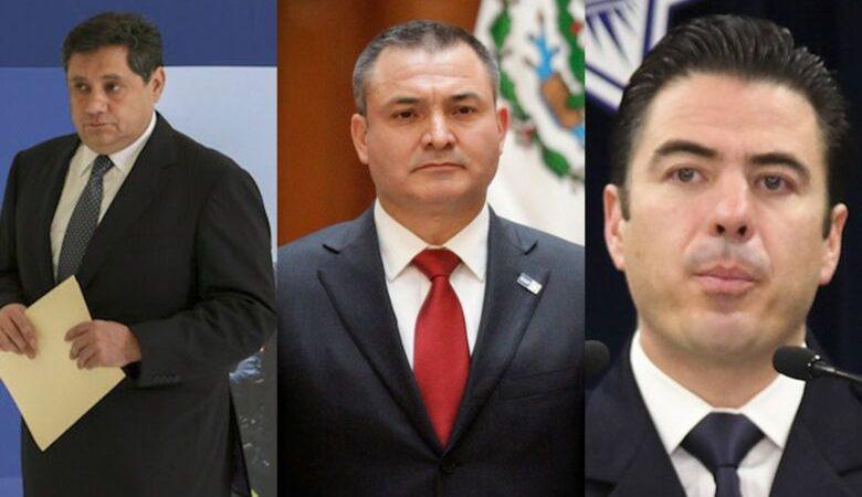 Departamento de Justicia  acusa a García Luna de ayudar a introducir 50 mil kilos de cocaína a los EE.UU., junto con dos de sus mandos: Luis Cárdenas Palomino y Ramón Pequeño García