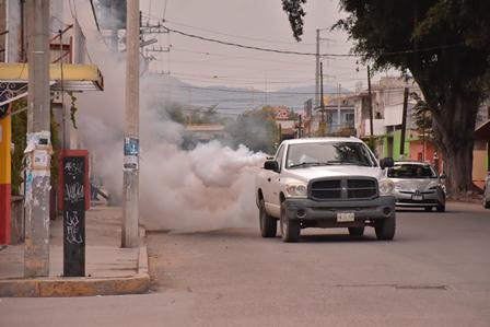 Acciones contra el dengue