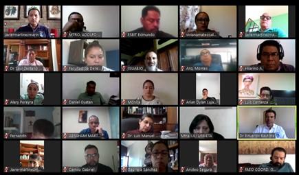 Quinta reunión virtual