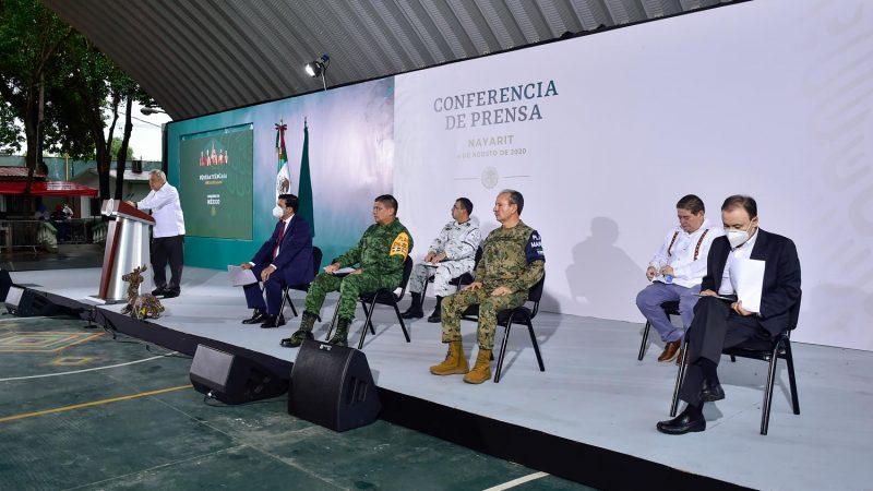 """LUEGO DE LA DETENCIÓN DE """"EL MARRO"""" EL PRESIDENTE ANDRÉS MANUEL LÓPEZ OBRADOR LLAMA A ACTUAR CON RECTITUD Y CON APEGO A LA LEY, A LAS AUTORIDADES JUDICIALES FEDERALES  Y ESTATALES"""