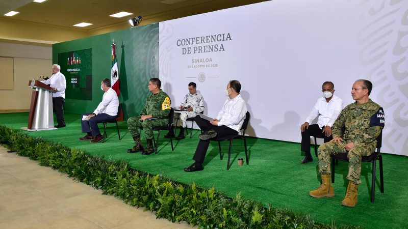 EN SINALOA PROGRAMAS DE BIENESTAR BENEFICIAN AL 65% DE LOS HOGARES, ASEGURA EL PRESIDENTE ANDRÉS MANUEL LÓPEZ OBRADOR