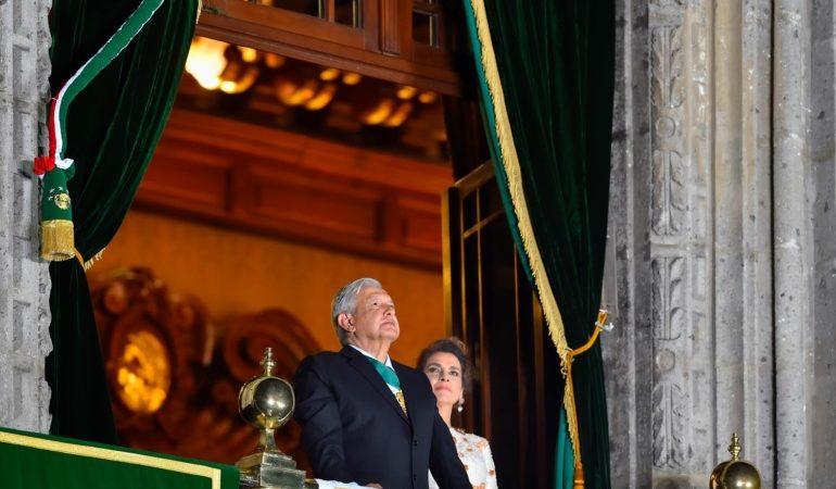 Presidente encabeza 210 Aniversario del Grito de Independencia con llamado a la esperanza en el porvenir
