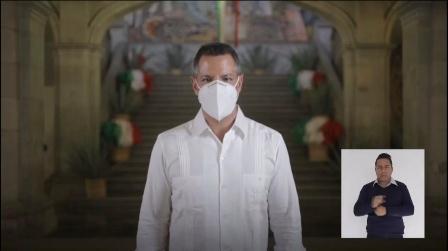 Regresa Oaxaca a semáforo naranja; Obligatorio el uso de cubre bocas: Murat Hinojosa