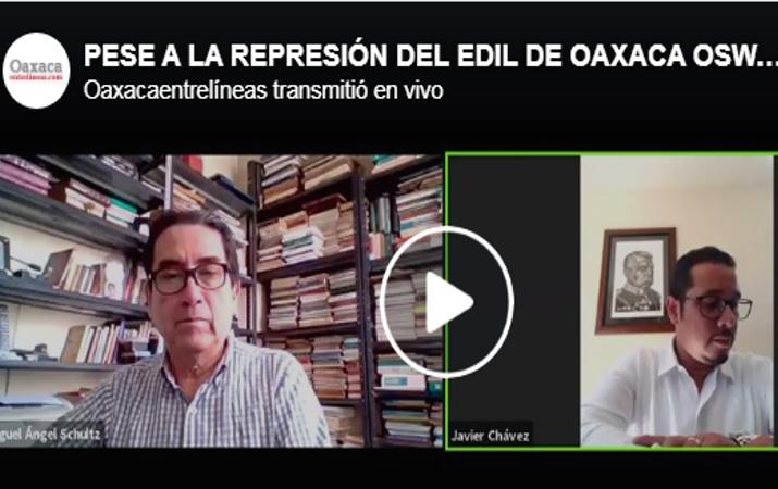 PESE A LA REPRESIÓN DEL EDIL DE OAXACA OSWALDO GARCÍA JARQUÍN, EL BACHEO POR CIUDADANOS CONTINUARÁ: JAVIER CHÁVEZ ROSALES