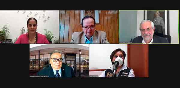LA PANDEMIA OBLIGA A CAMBIAR PERSPECTIVAS Y PARADIGMAS: ENRIQUE GRAUE, RECTOR DE LA UNAM
