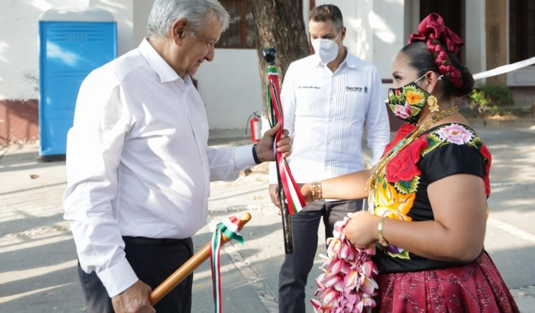 Avance del Programa Nacional de Reconstrucción, en Santo Domingo Tehuantepec, Oaxaca  Versión estenográfica.