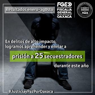 Vinculan a proceso a dos probables secuestradores; Suman 27 plagiarios llevados a prisión este año