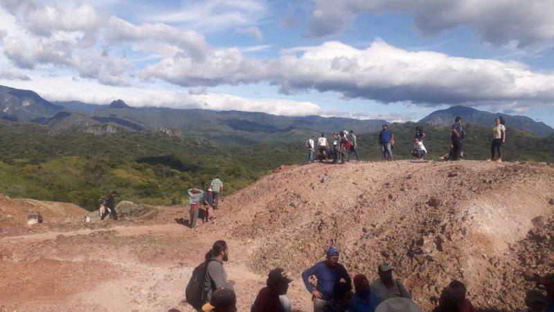 ACUERDAN AUTORIDADES TERMINAR CON EL TRABAJO DE BARRENACIÓN DE LA MINERA MINAURUM GOLD EN LA SELVA DE SAN MIGUEL CHIMALAPA