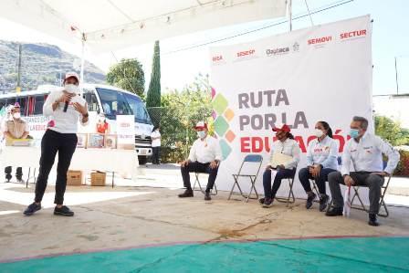 Arranca Ruta por la Educación