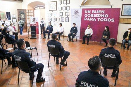 Avanza conformación de la Unidad de Investigación de la Policía Municipal de Oaxaca de Juárez