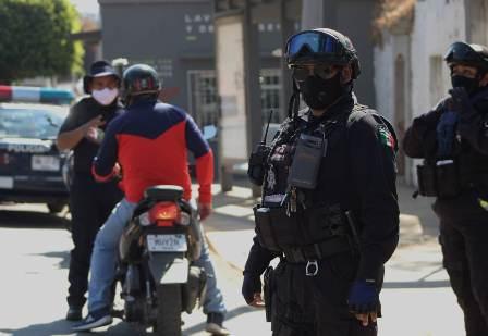 Tras festividad navideña, seguridad pública de Oaxaca de Juárez reporta saldo blanco