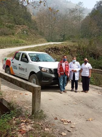 Fortalecen Atención Primaria a la Salud en Oaxaca con entrega de 40 vehículos