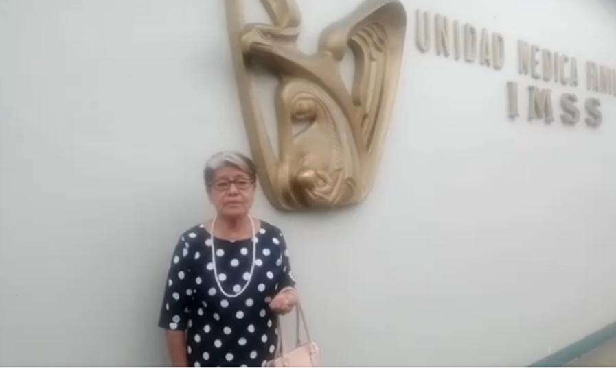 Martha Escobar Vásquez funcionaria del IMSS con doble plaza en el sector salud, le permitió vacunarse contra el COVID-19 -Video-