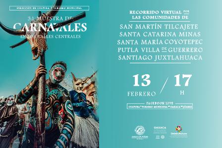 Carnavales en los Valles Centrales
