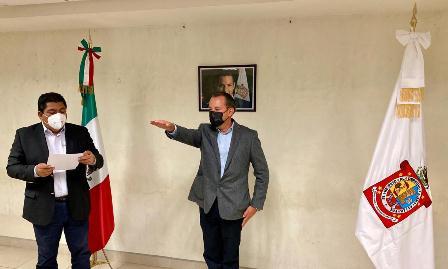 Rinde protesta Raúl Castillejos como nuevo comisionado de la Policía Estatal de Oaxaca